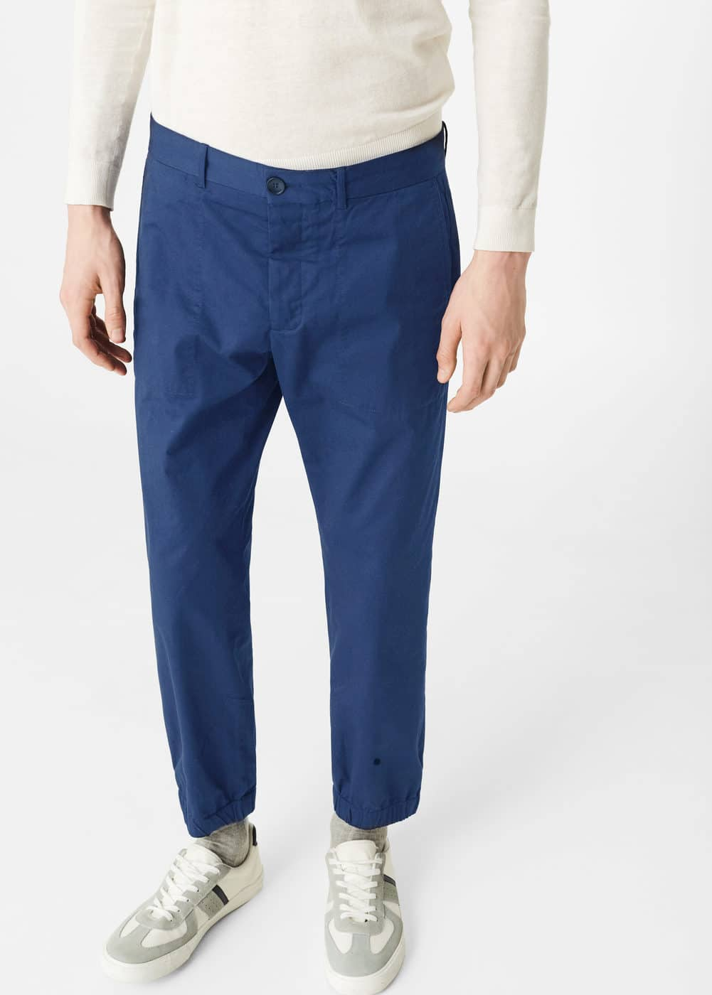 Chinos-style jogging trousers | MANGO MAN