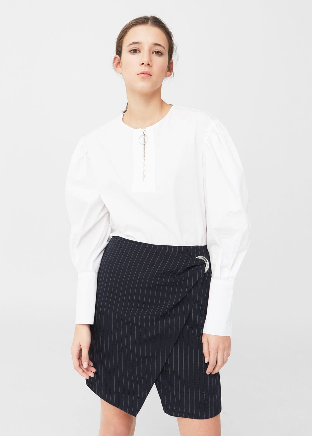 Buckle wrap skirt | MANGO