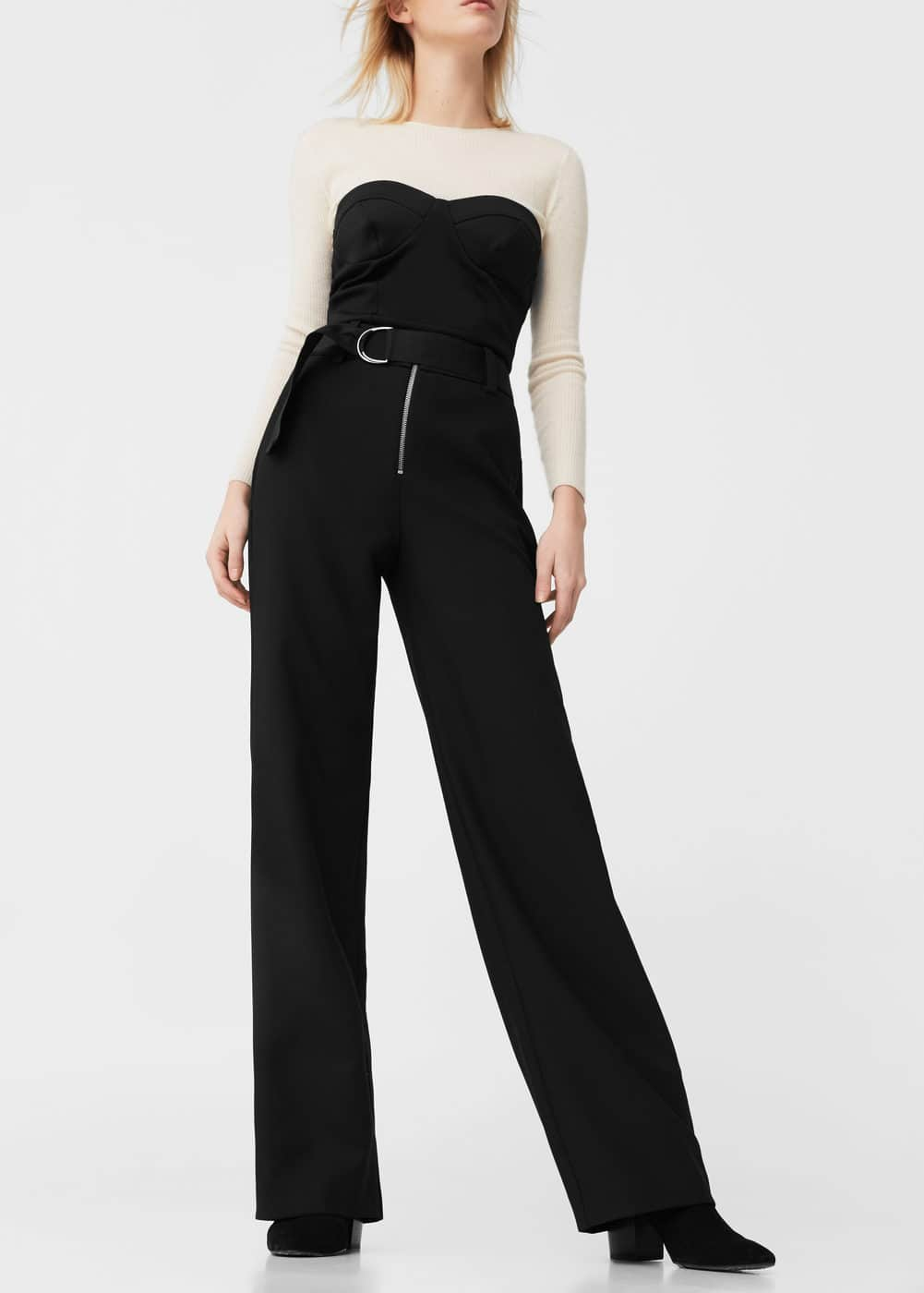 Buckle suit trousers | MANGO
