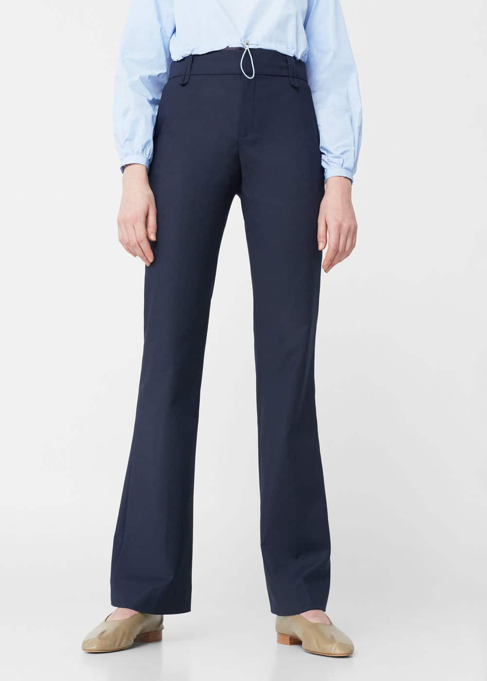 Cotton suit trousers | MANGO