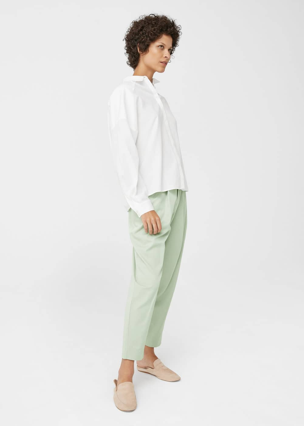 Organic cotton shirt | MANGO