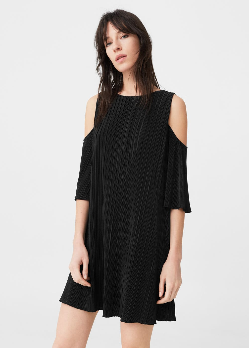 Off-shoulder dress | MANGO