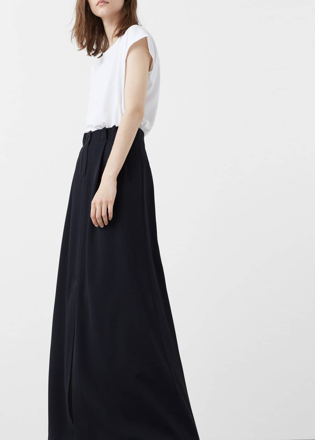 Slit long skirt | MNG