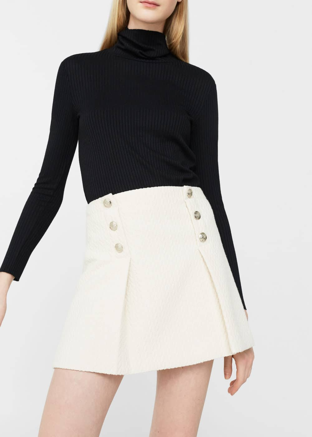 Double-breasted skirt | MANGO