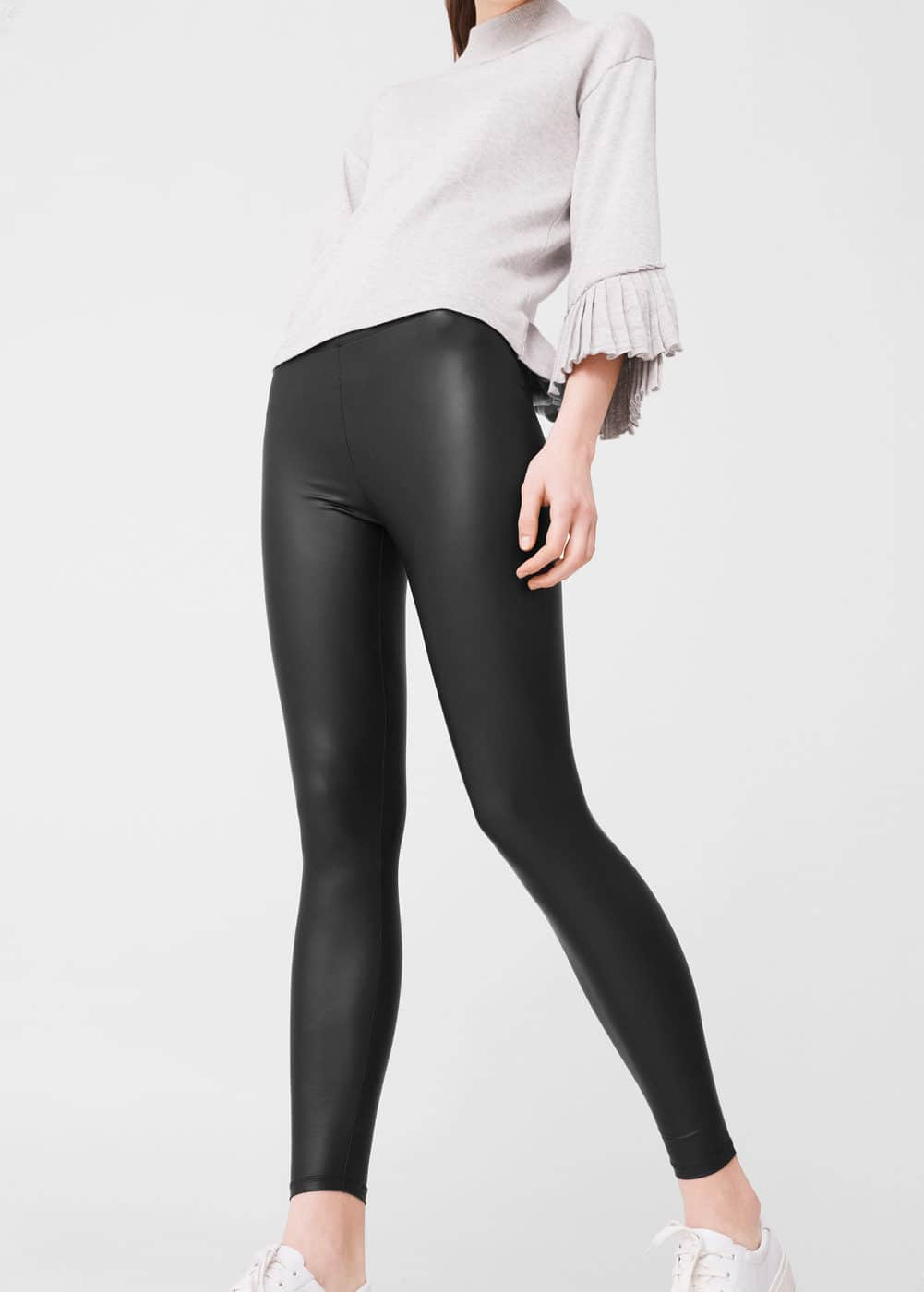 Leggings finition brillante | MANGO
