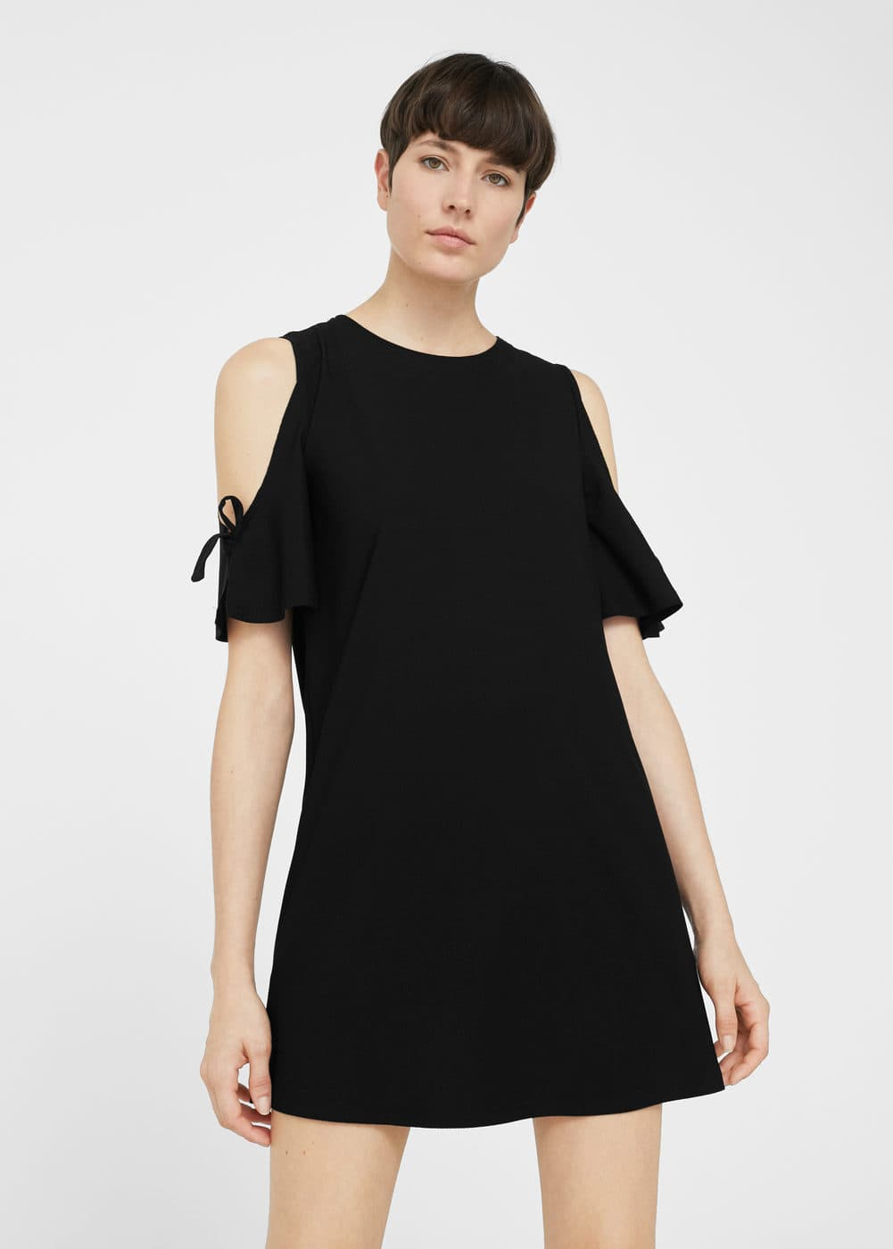 Off-shoulders dress | MANGO