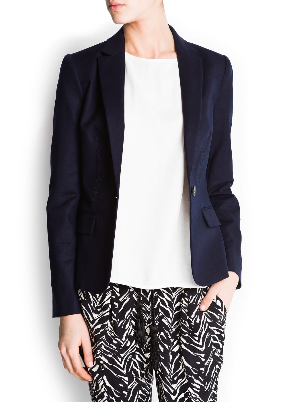 Tailored suit blazer | MANGO