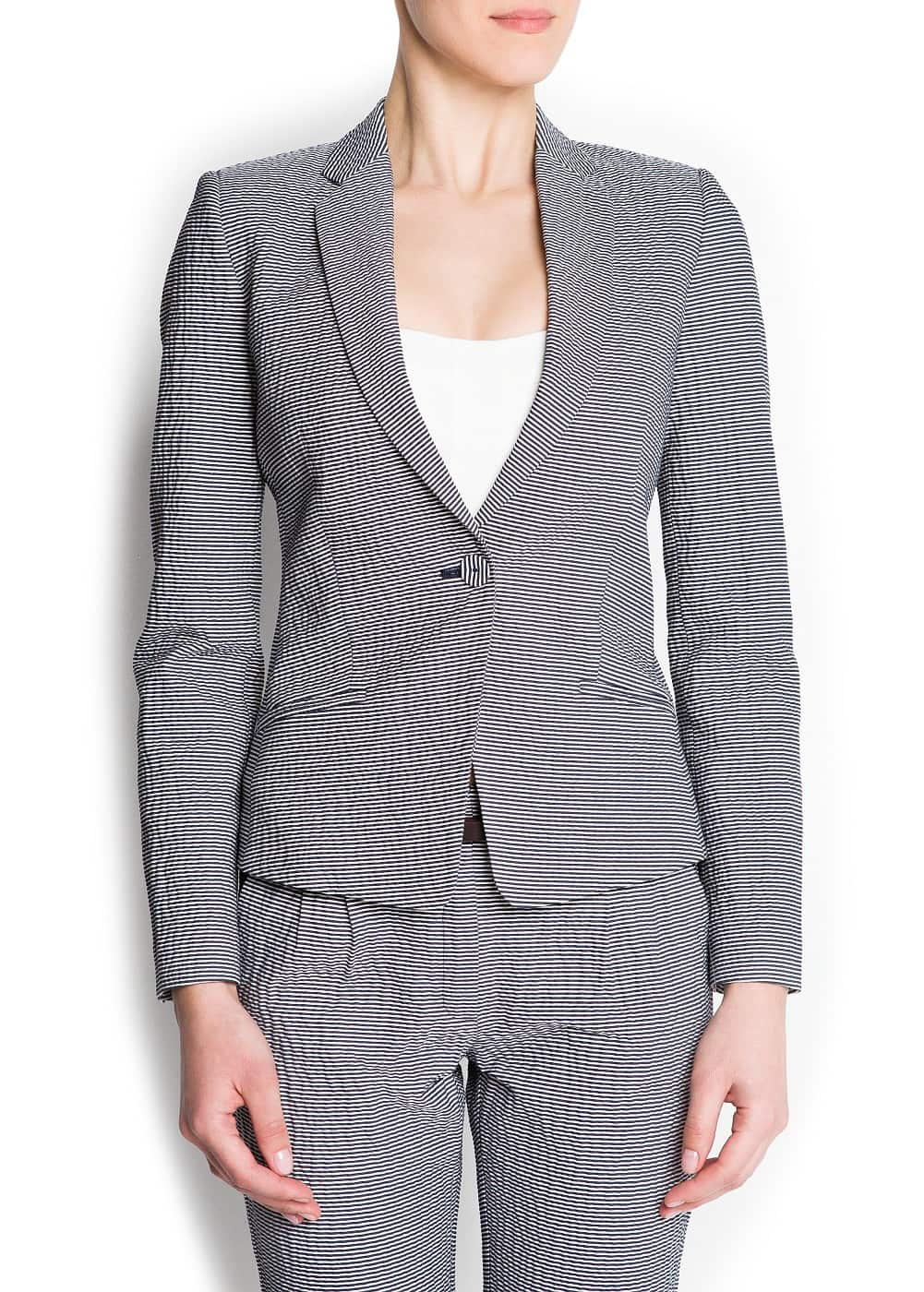 Suit jacket -- | MANGO