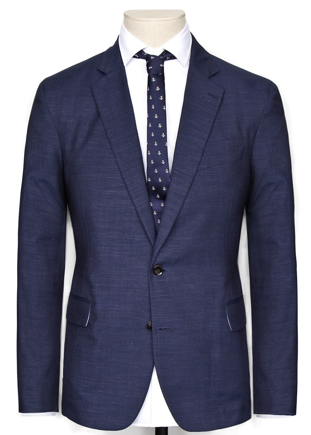 Flecked tailored blazer | MANGO MAN