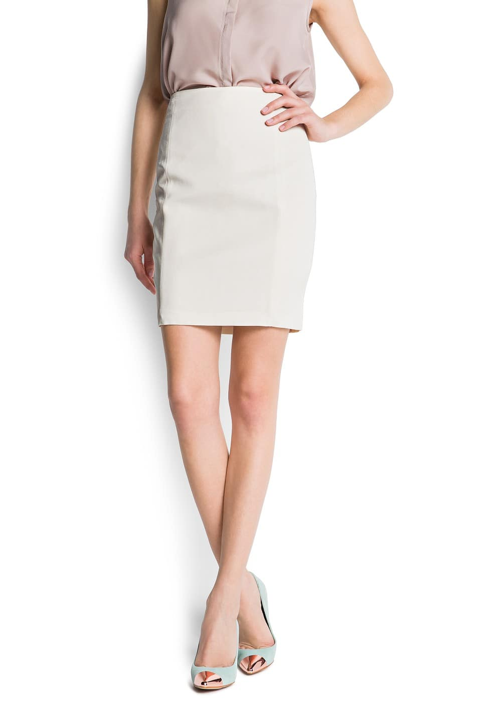Pencil skirt | MANGO