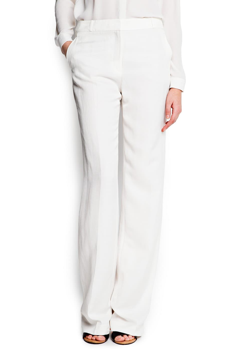 Suit wide-leg trousers | MANGO