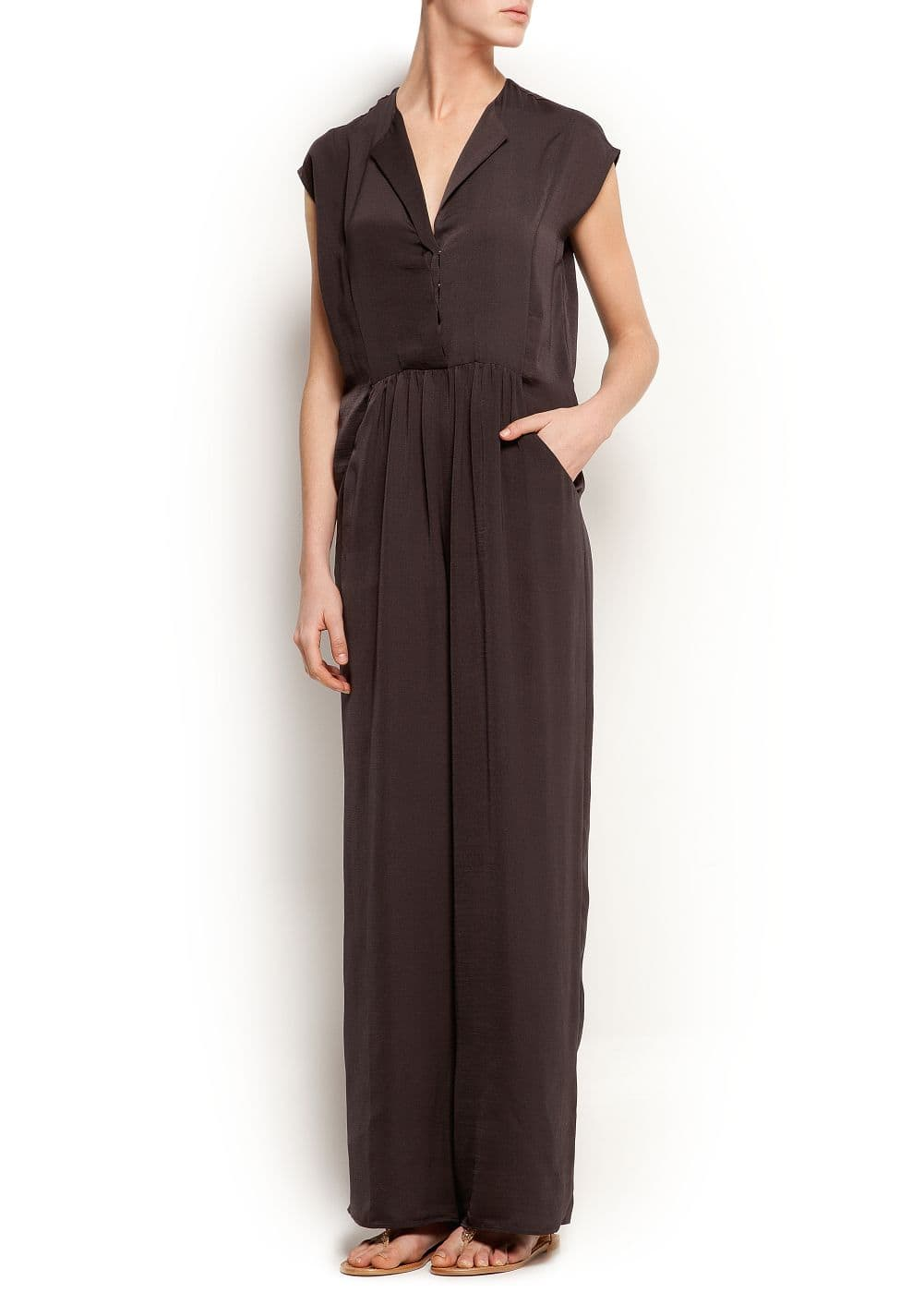 Wide-leg jumpsuit | MANGO