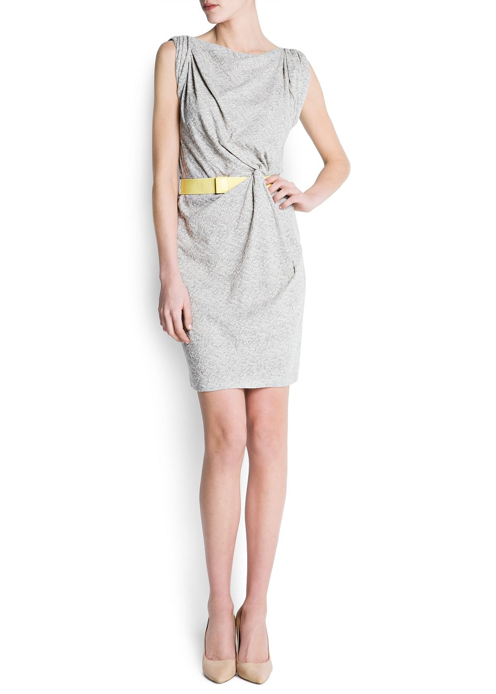 Side knot dress | MANGO