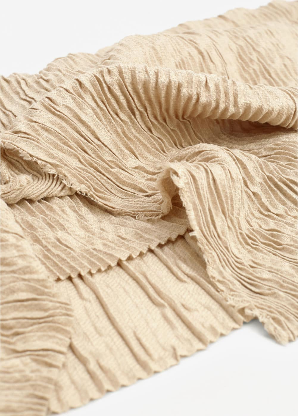 Striped textured scarf | MANGO