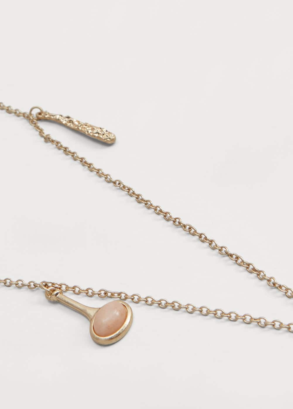 Double chain necklace | MANGO