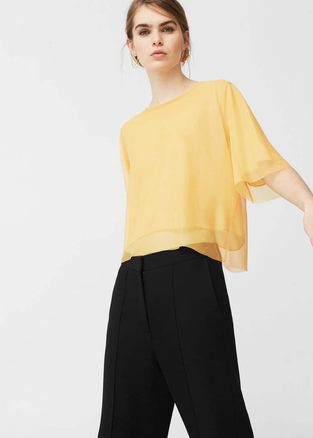 Tulle t-shirt | MNG