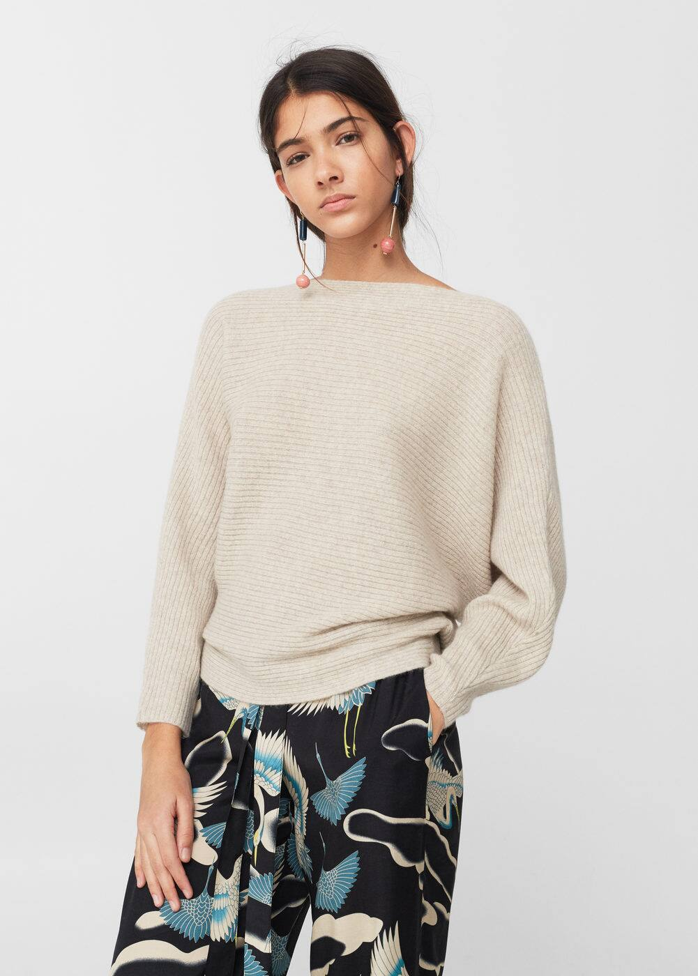 100% cashmere sweater | MNG