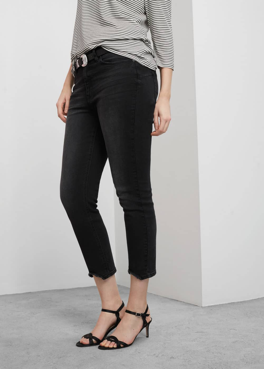 Slim-fit push up mariah jeans | MANGO