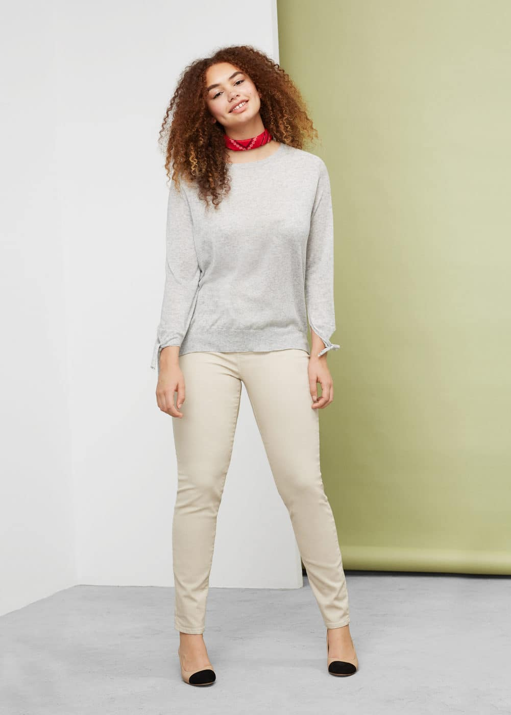 Color massha jeggings | MANGO
