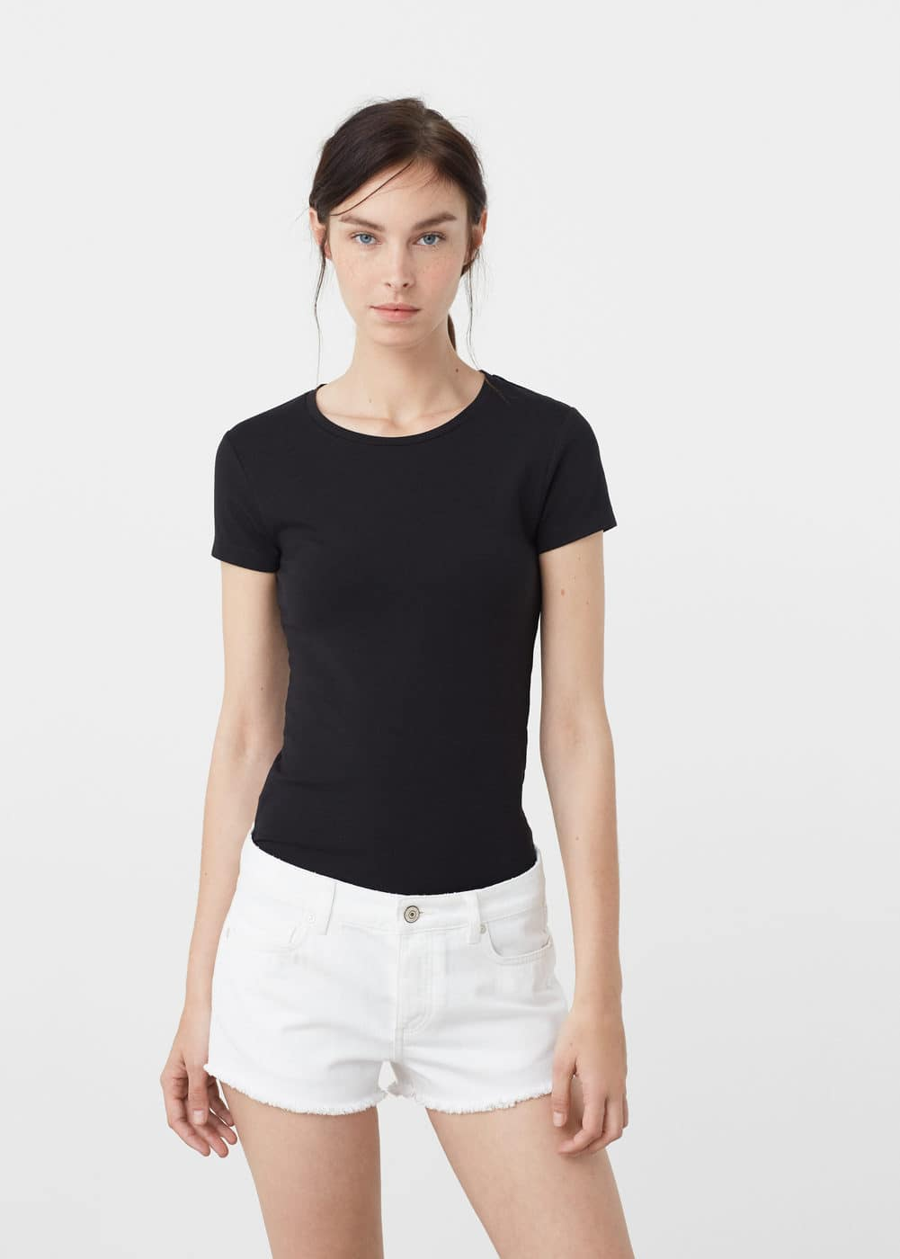 Cotton t-shirt | MANGO