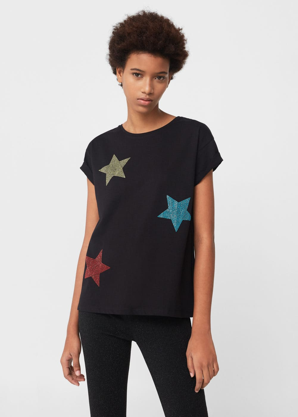 Star t-shirt | MANGO