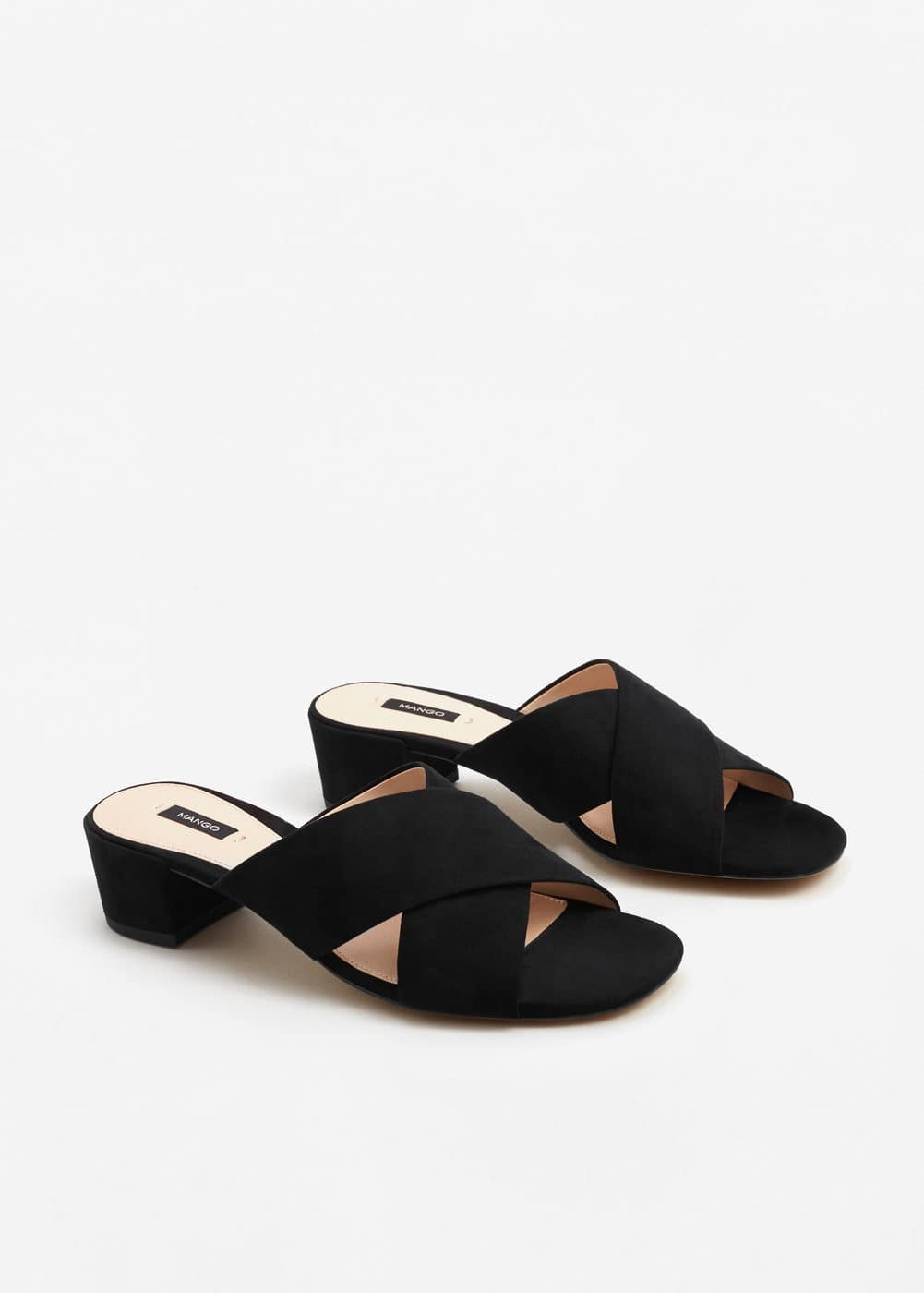 Criss-cross sandals | MANGO