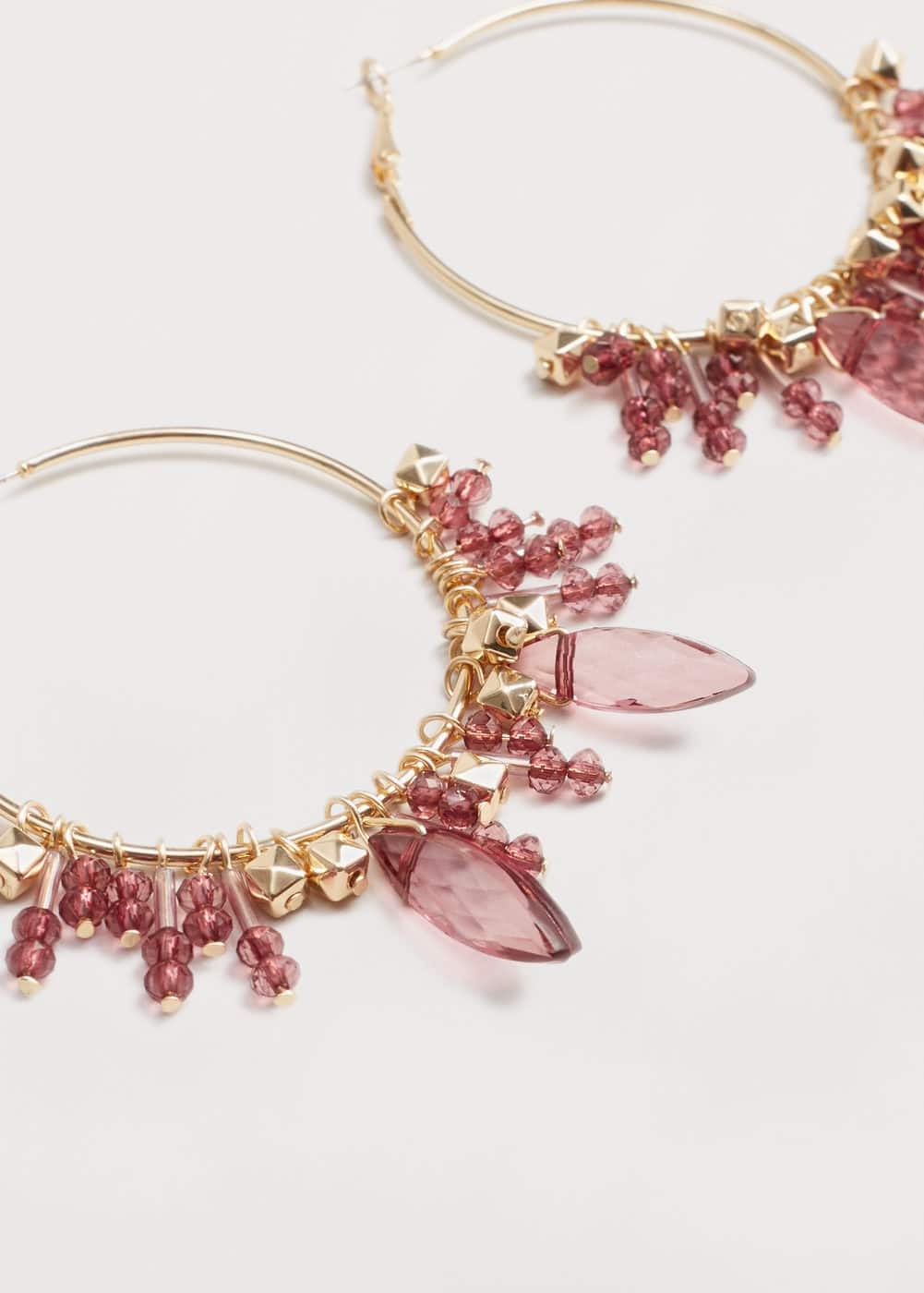 Mixed pieces earrings | VIOLETA BY MANGO