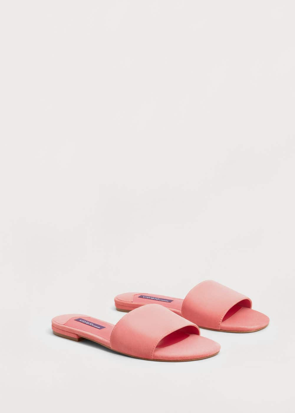 Leather sandals | VIOLETA BY MANGO