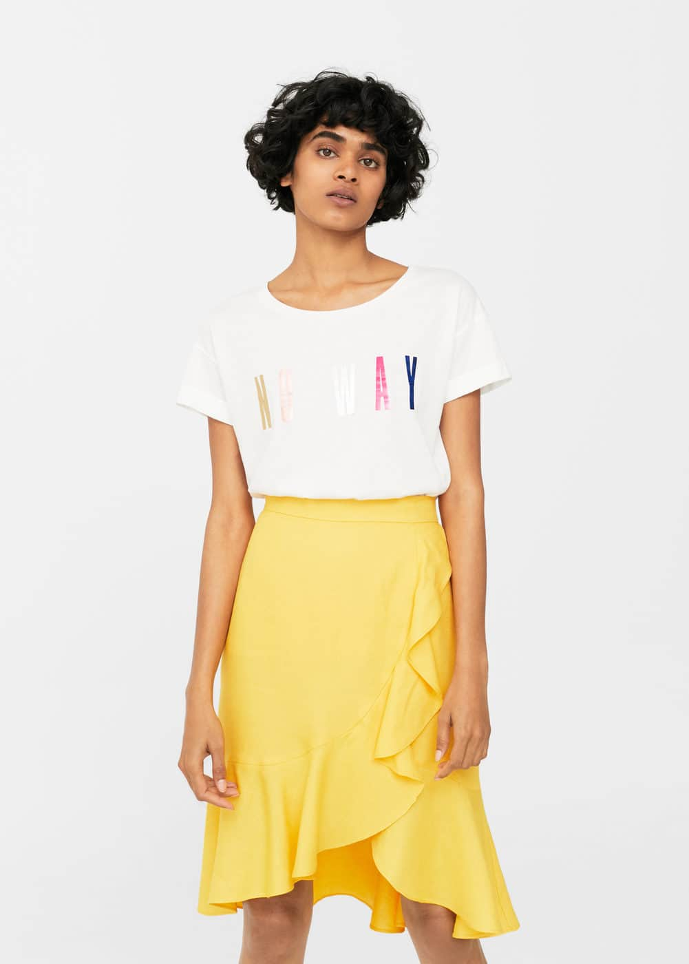 Message t-shirt | MANGO
