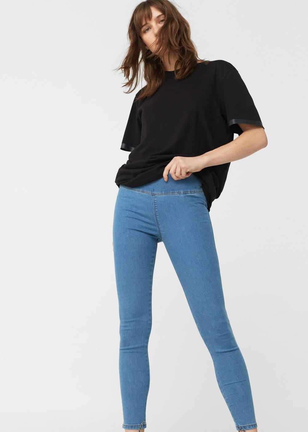 Medium fade piti jeggings | MANGO