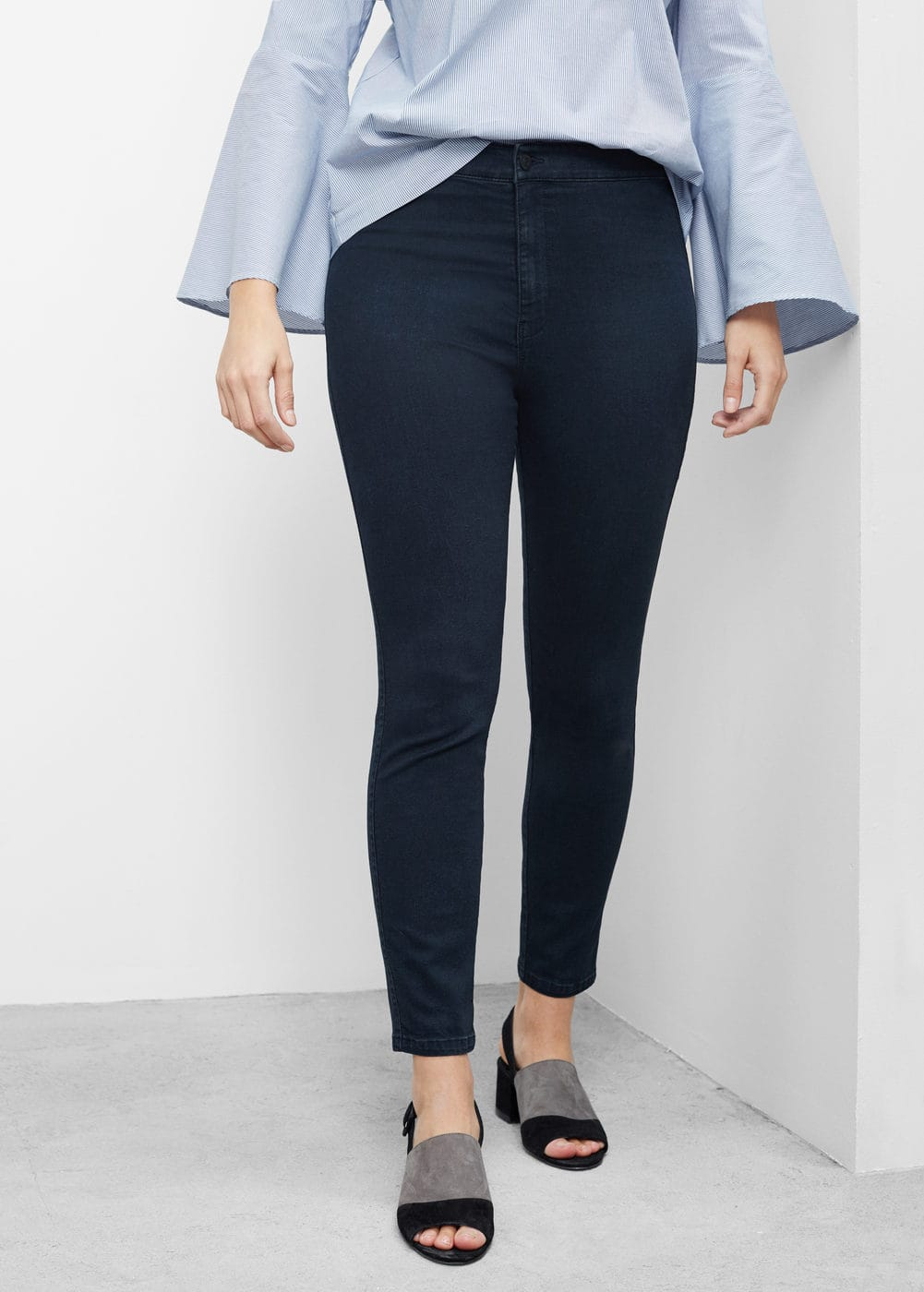 Jeggings highwaist tania | MANGO