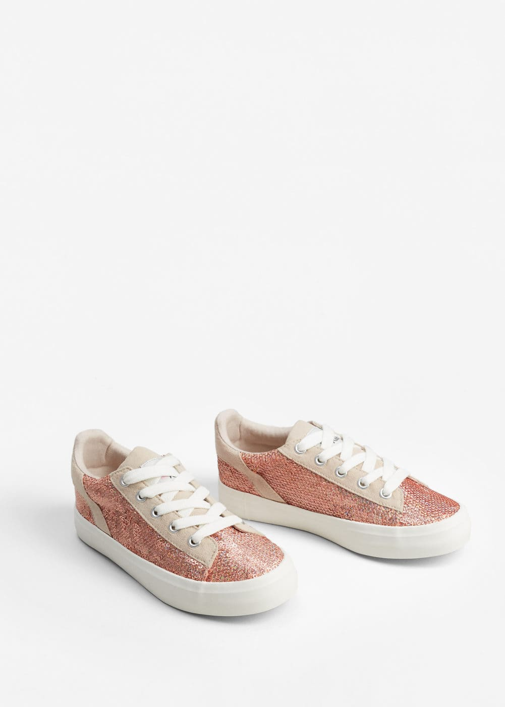Sequin sneakers | MANGO KIDS