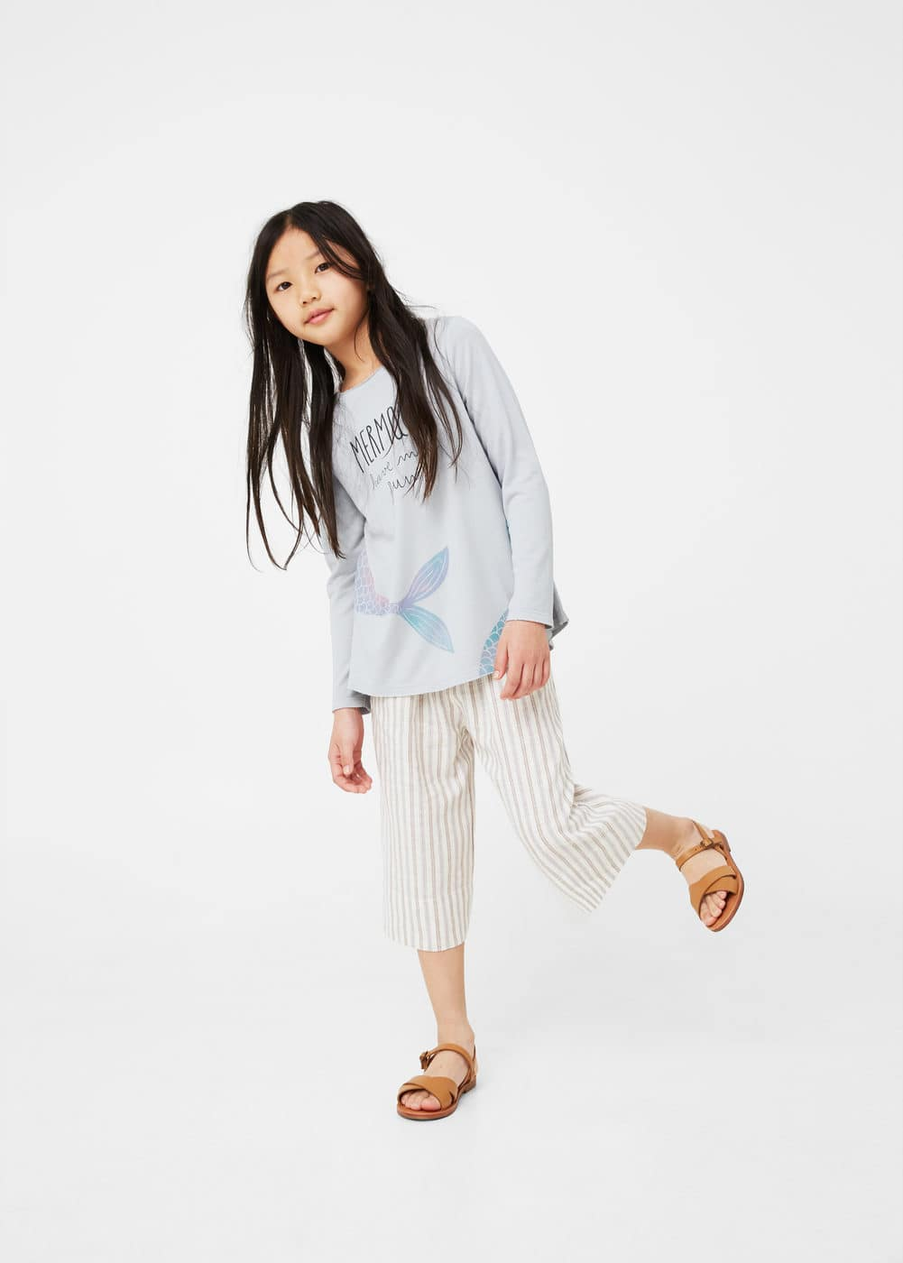 Image cotton sweatshirt | MANGO KIDS