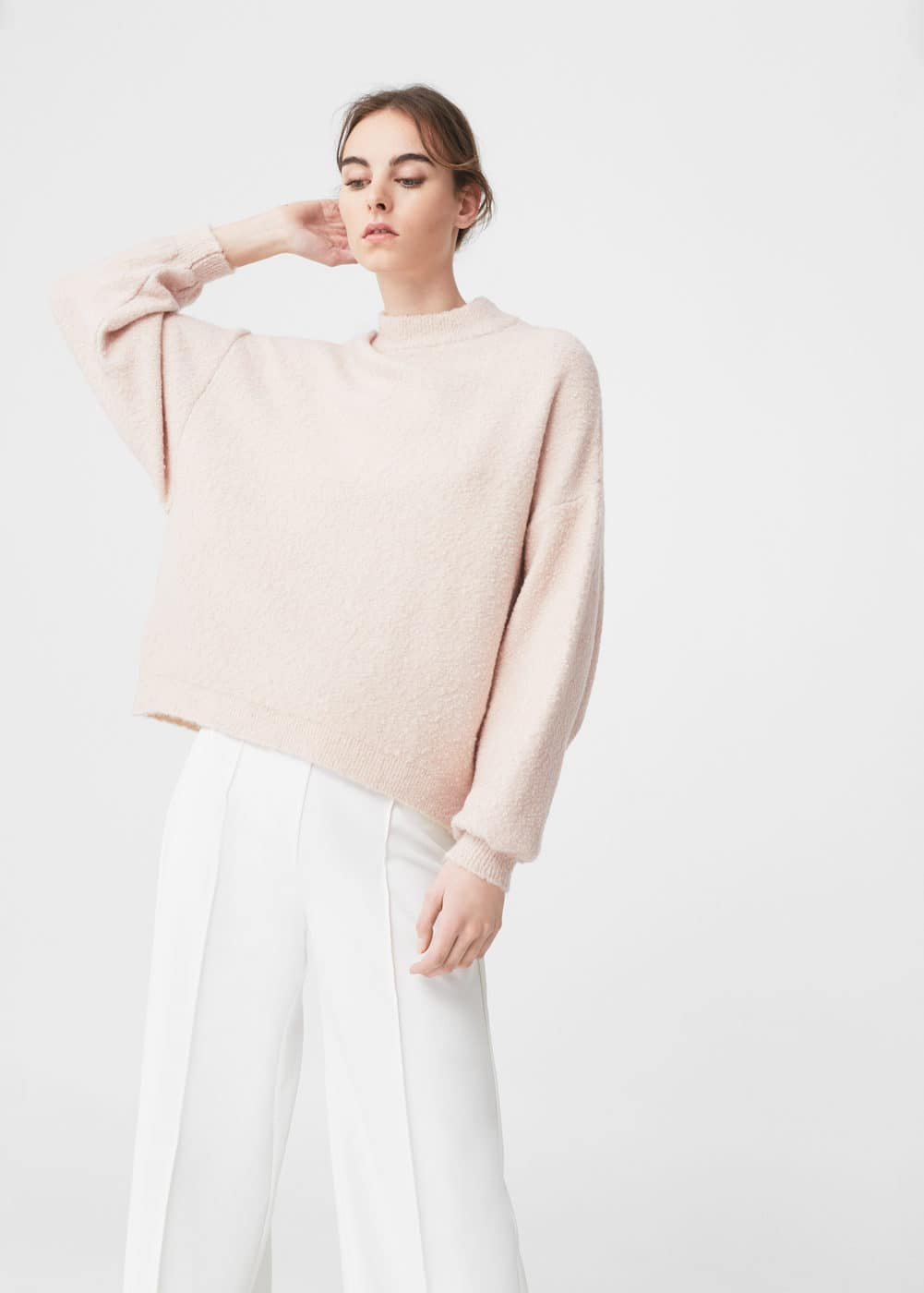 Puffed sleeves sweater | MANGO