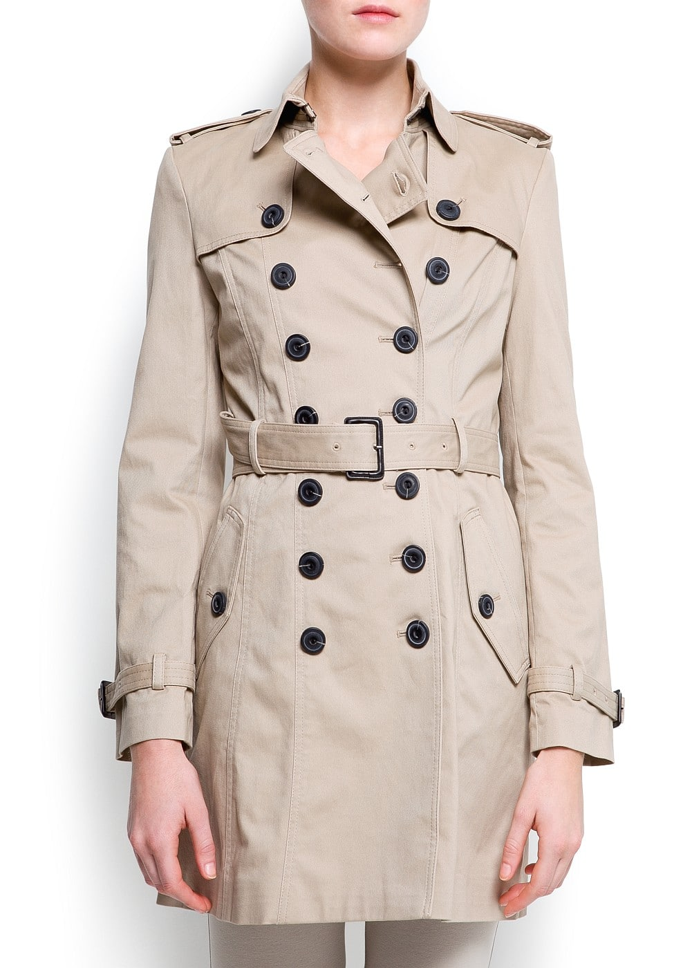 Cotton trench | MANGO