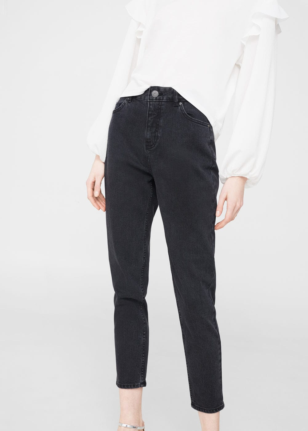 Jeans relaxed mom | MANGO
