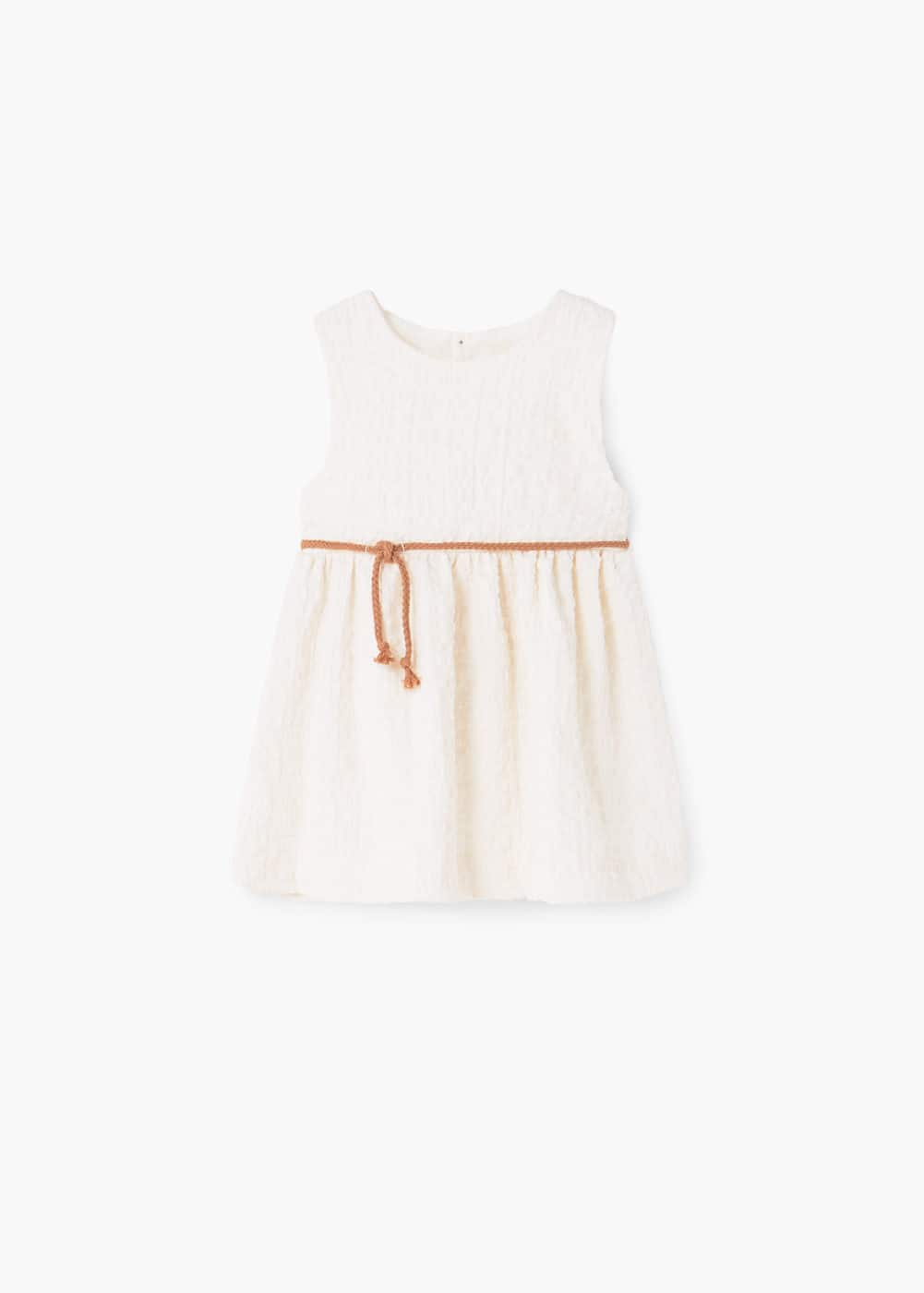 Cord textured dress | MANGO KIDS