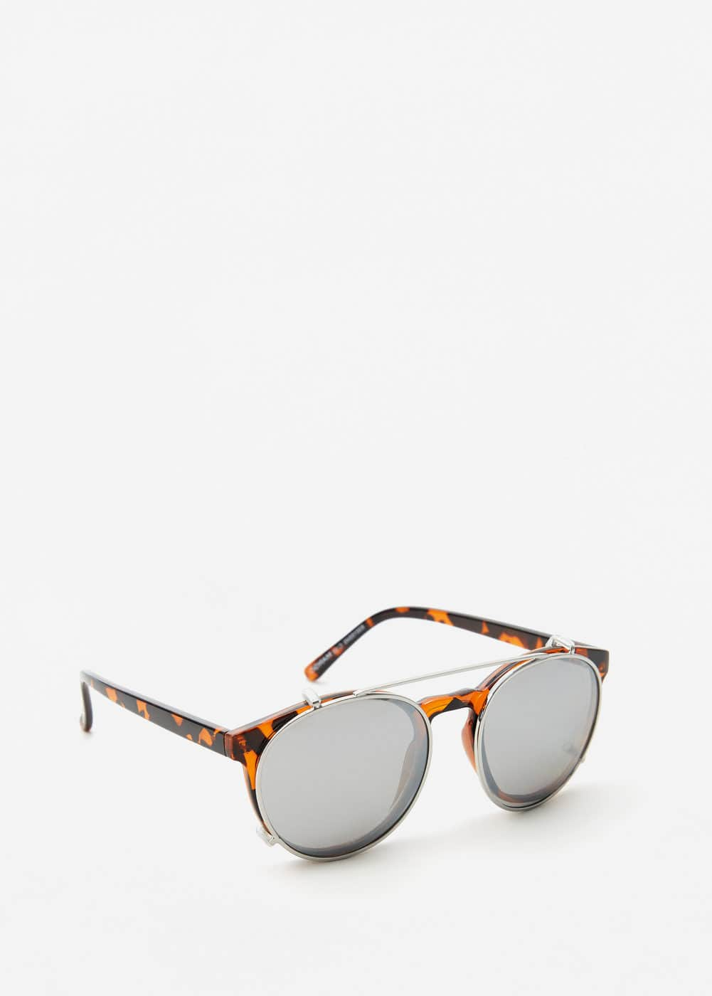 Clip-on lens sunglasses | MANGO