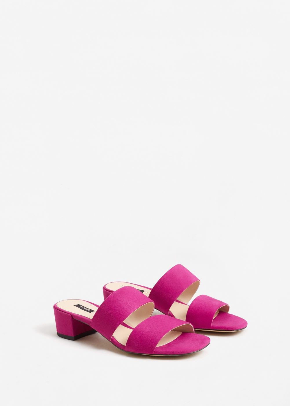 Strappy heeled sandals | MANGO