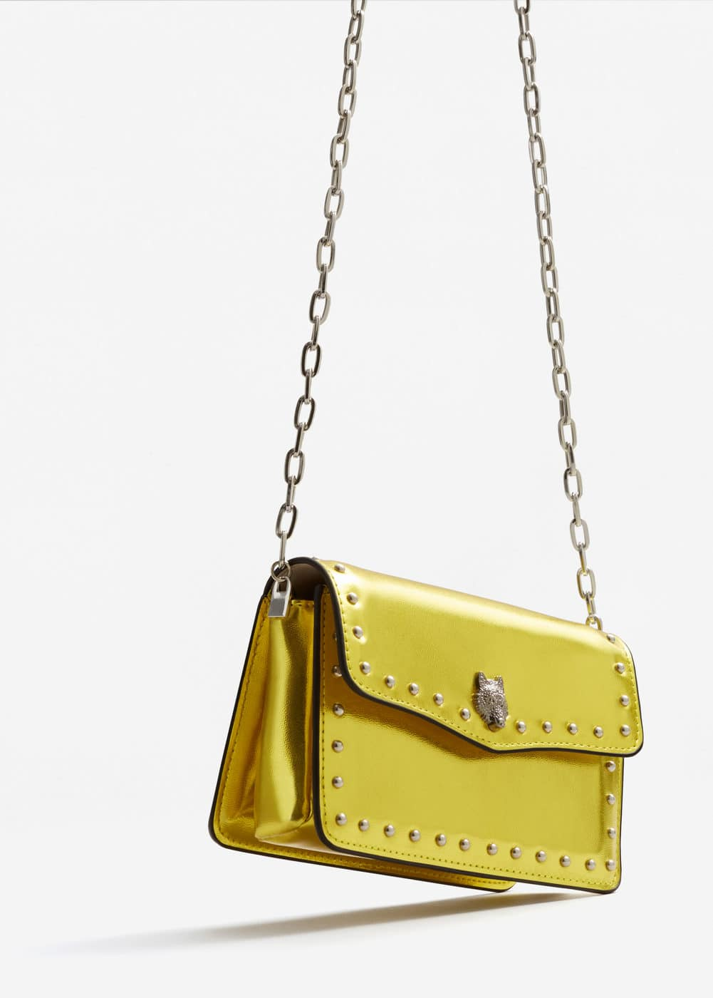 Studded chain bag | MANGO