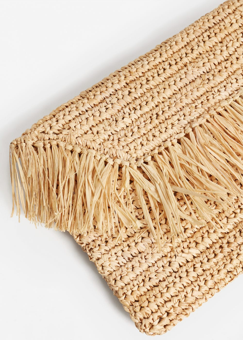 Straw clutch | MANGO