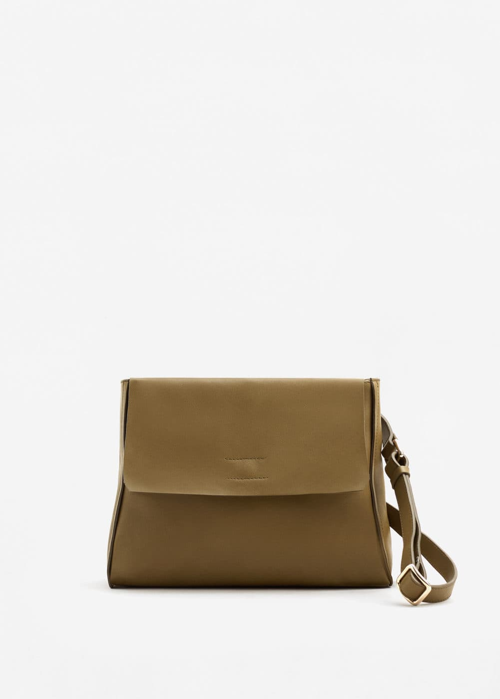 Leather convertible bag | MANGO