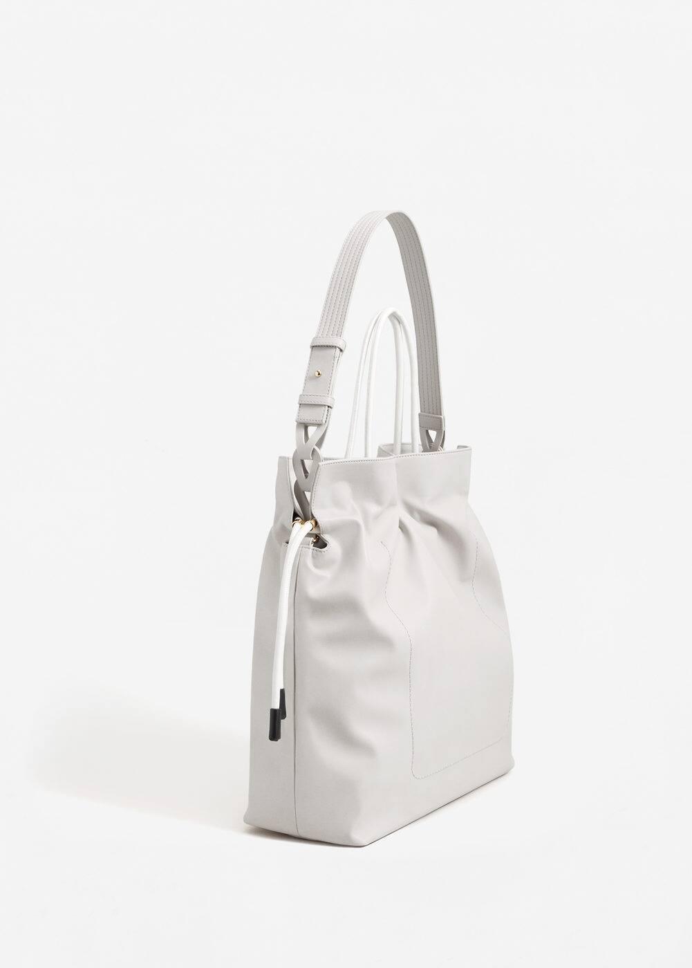 Strap shopper bag | MANGO