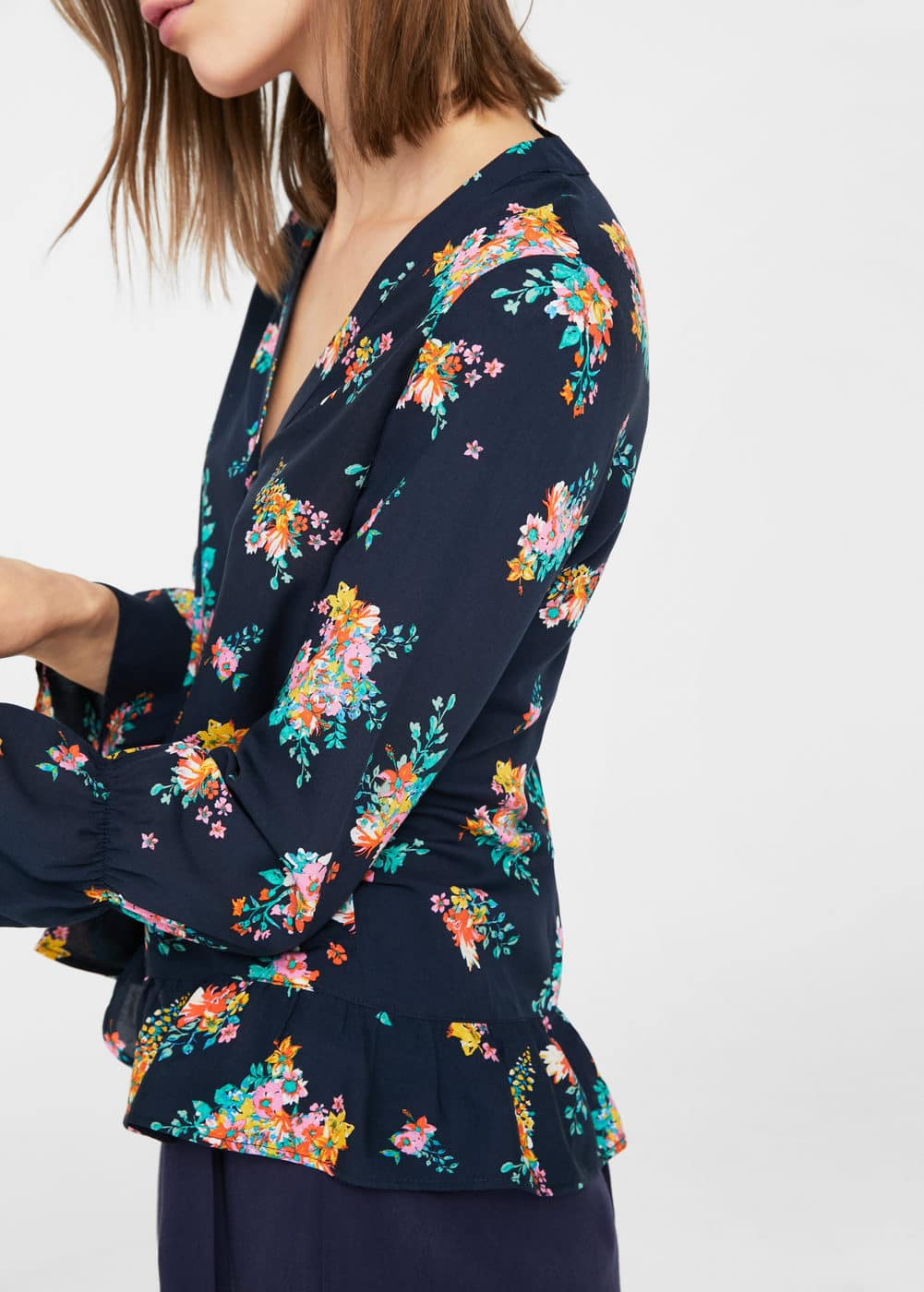 Flowy printed blouse | MNG