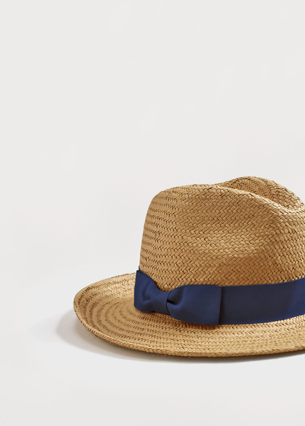 Contrast ribbon fedora hat | VIOLETA BY MNG