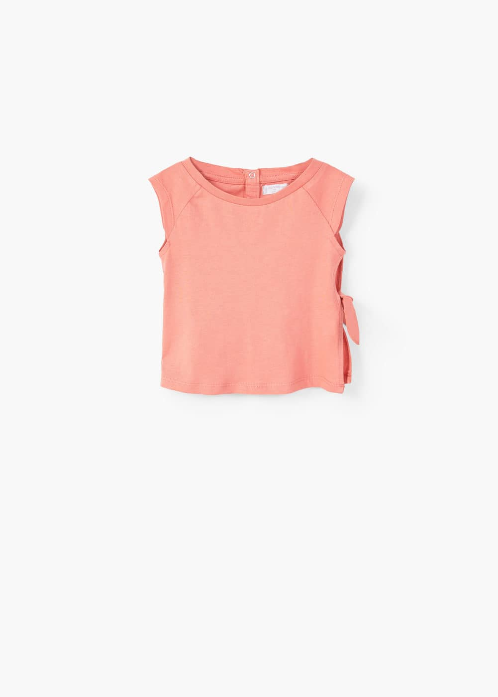 Knot detail t-shirt | MANGO KIDS
