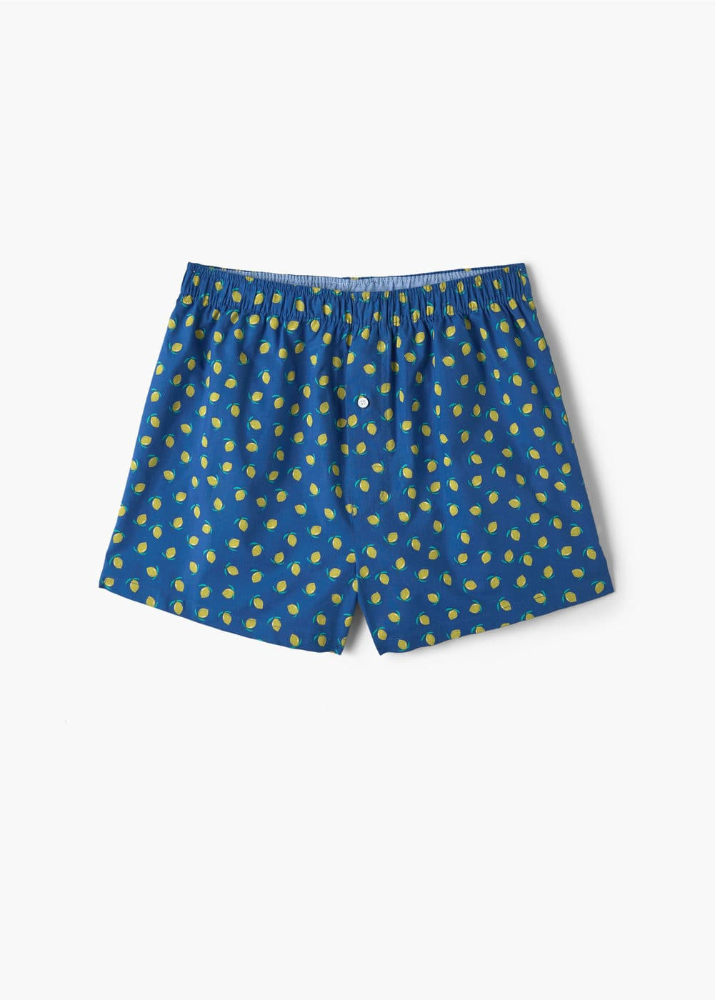 Printed cotton boxer shorts | MANGO MAN