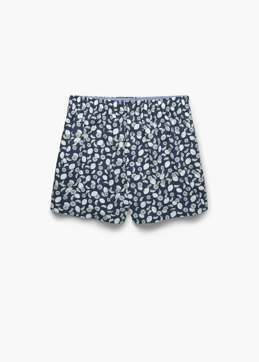 Printed cotton boxer shorts | MANGO