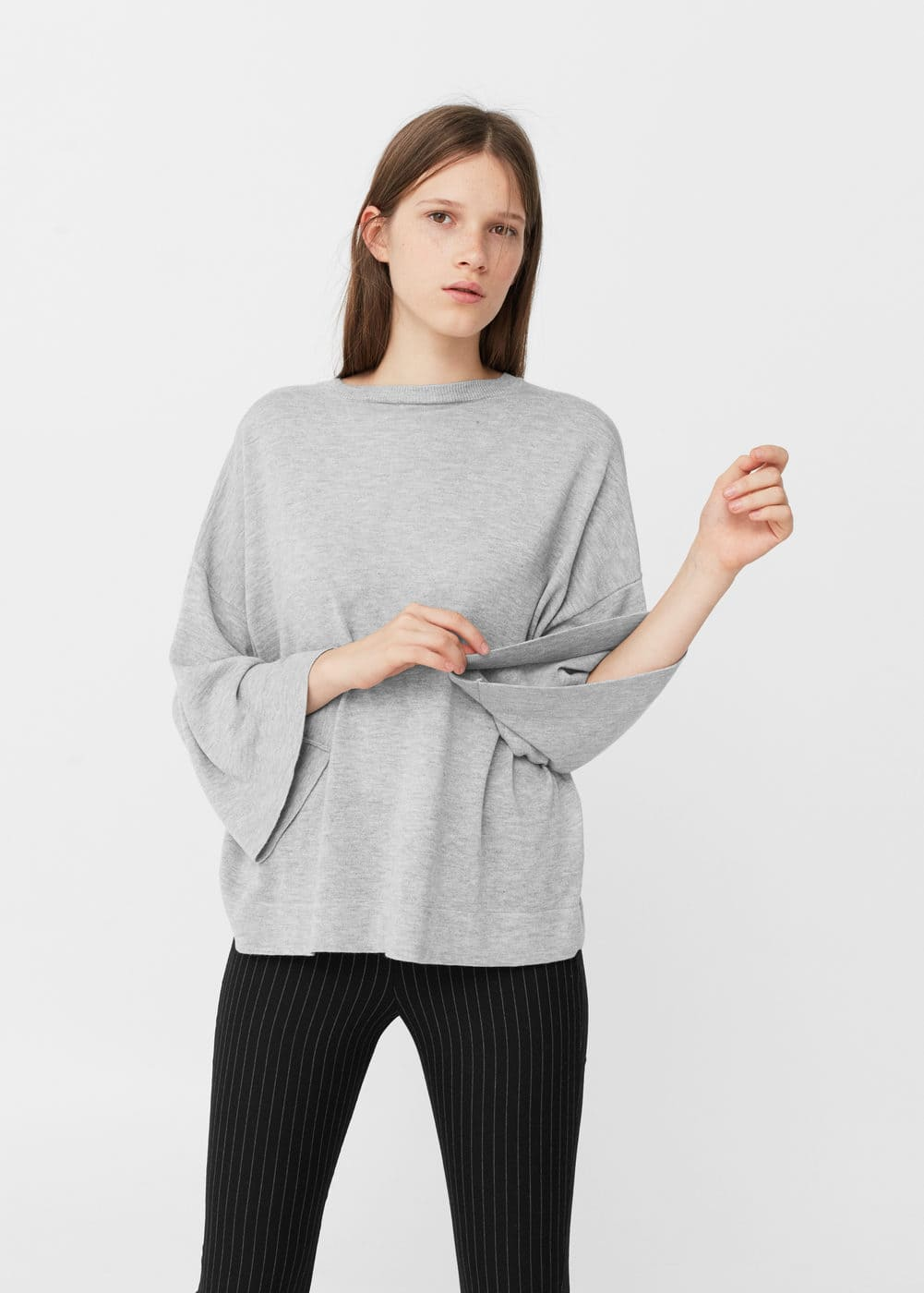 Fine-knit sweater | MANGO