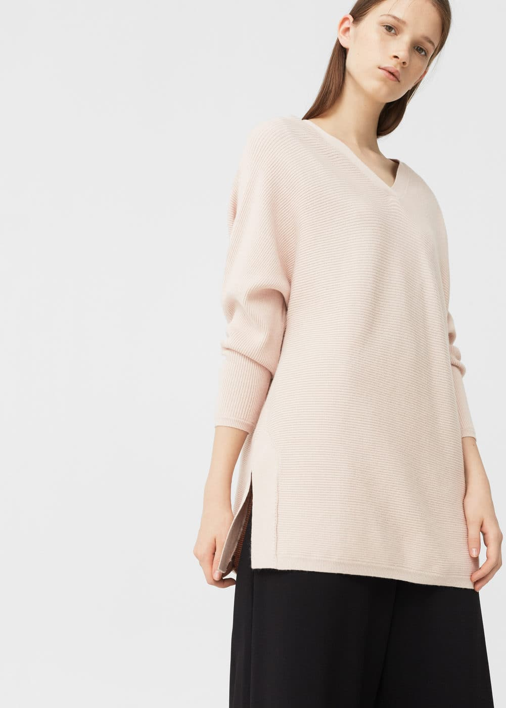 Oversize sweater | MANGO
